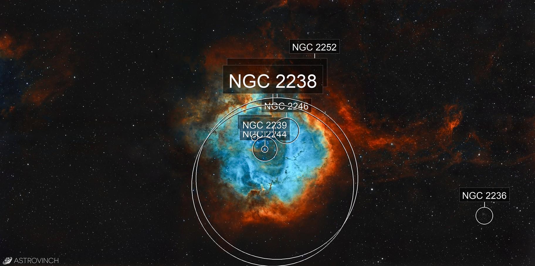 The Rosette Nebula - NGC2237
