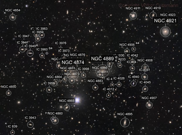 Going deep into the Coma cluster of galaxies