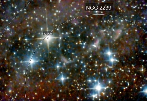 NGC 2244 - Center