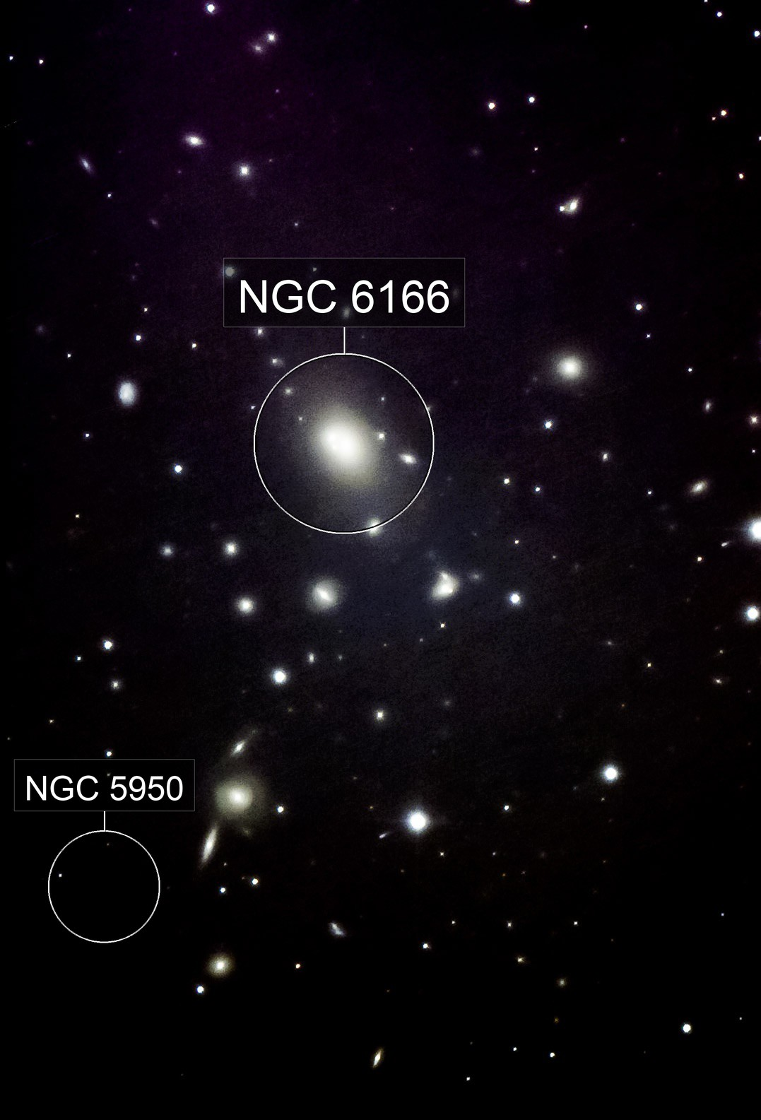 NGC 6166 - Galaxy Group in Herkules