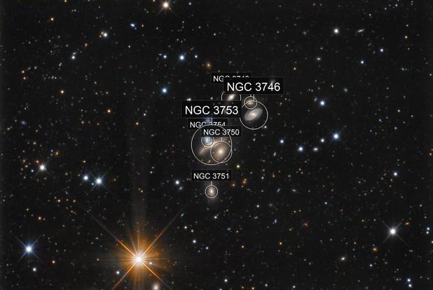 NGC 3753 (Copeland's Septet)