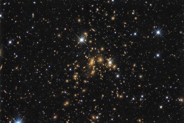 Abell 2065 (Corona Borealis Galaxy Cluster)