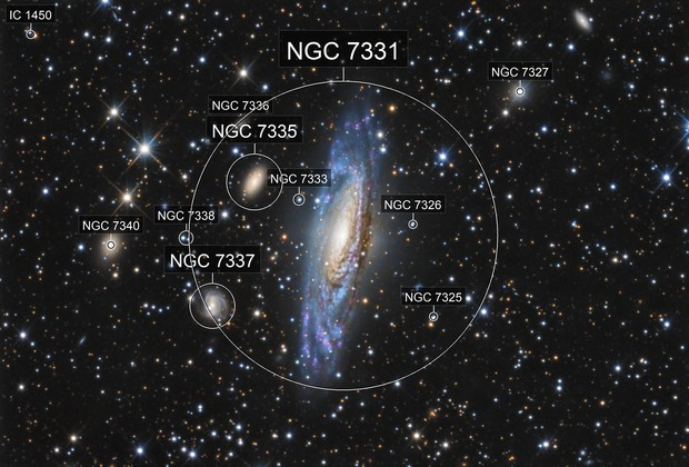 NGC 7331 (The Deer Lick Group)