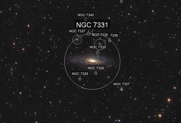 NGC 7331 - Deerlick Galaxy