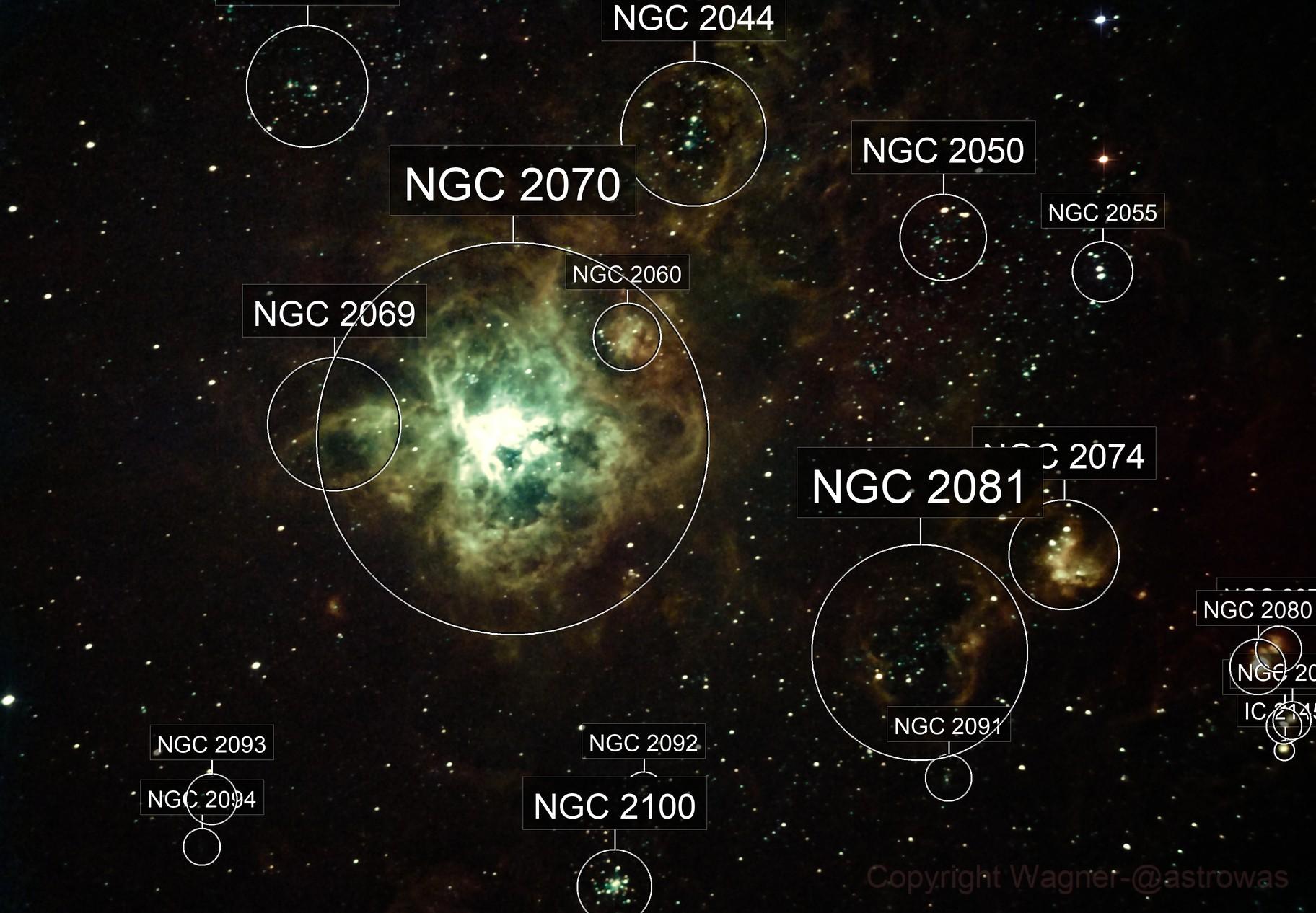 NGC 2070  Tarantula 11-10-2020
