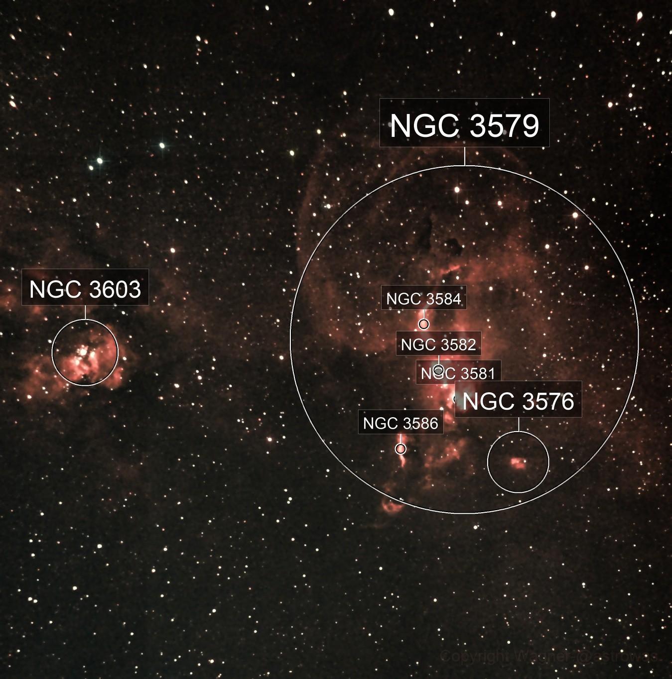 NGC 3581 Estatua da Liberdade 29-01-2021