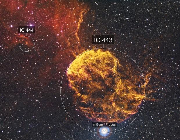 IC443 Jellyfish Neb.