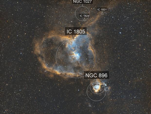 Heart Nebula  - RedCat 51