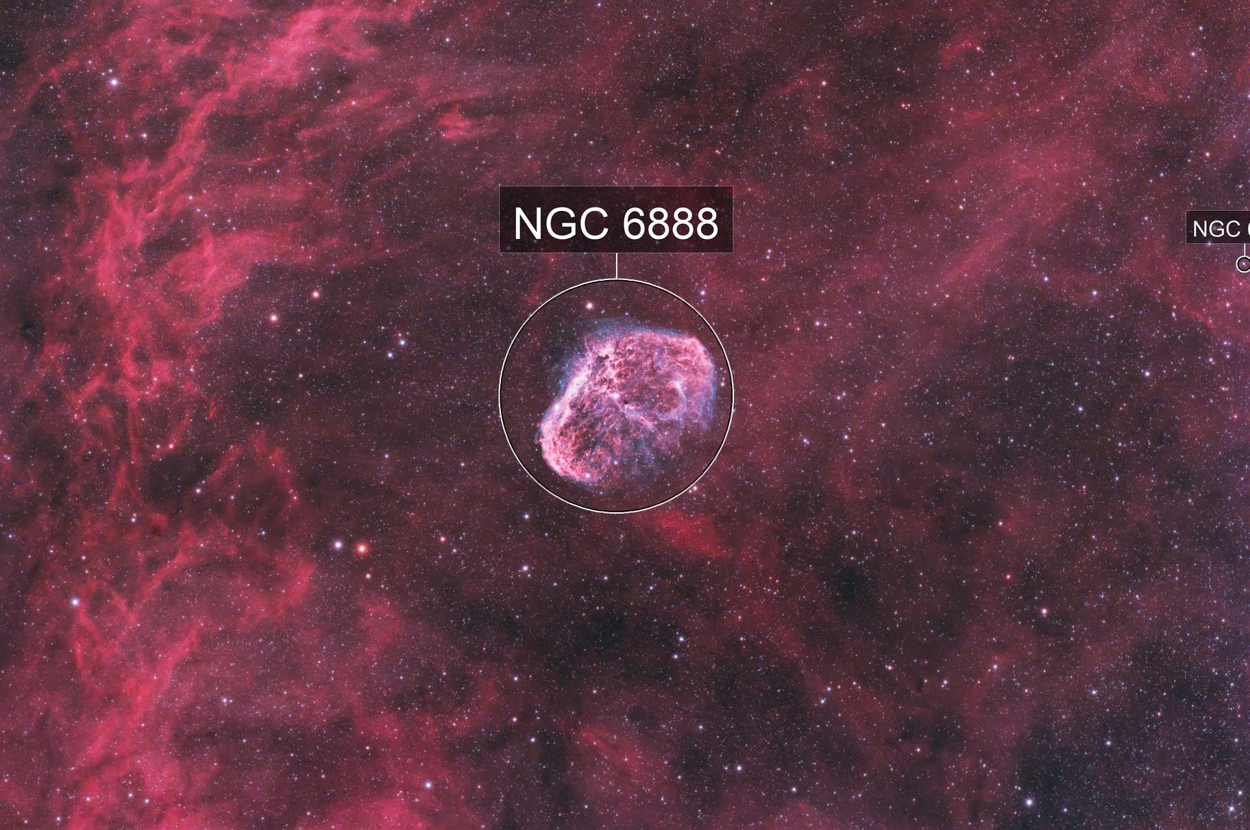 The Crescent Nebula