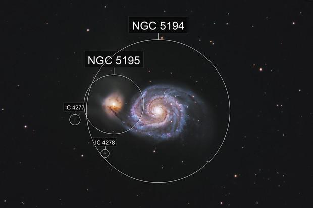 M51: Whirlpool Galaxy