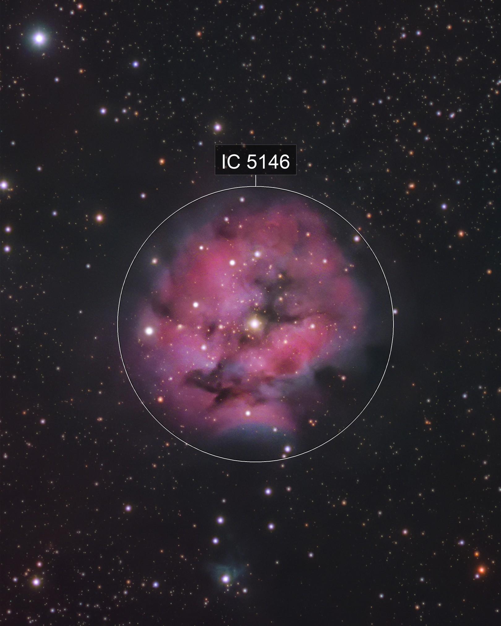 Cocoon Nebula (LRGB)