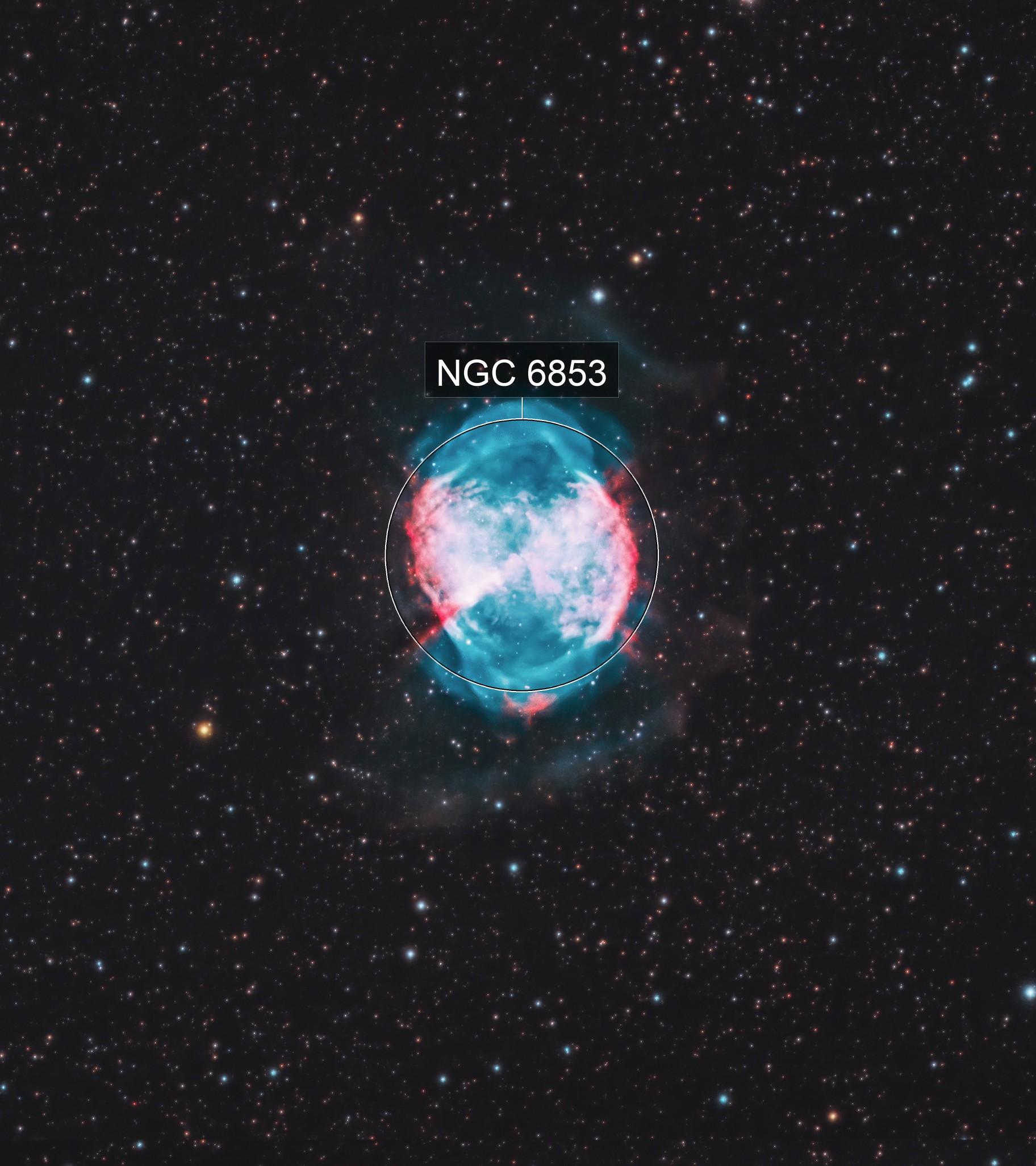 Dumbbell Nebula HOO