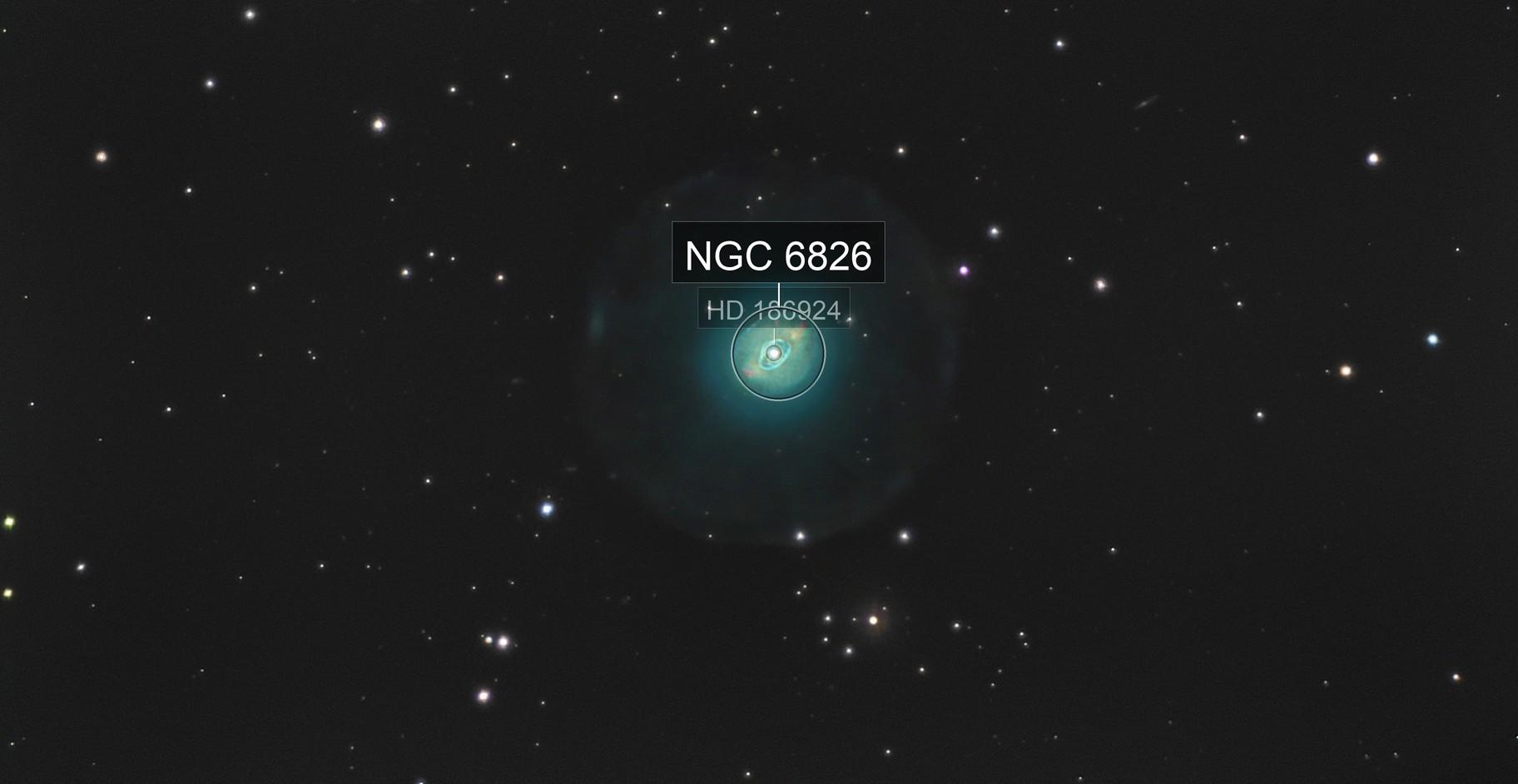 ngc 6826 planetary nebula