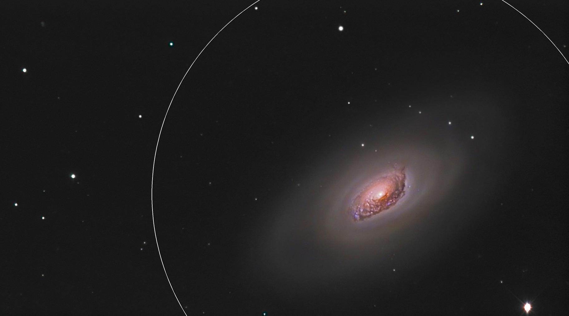 M64: The Sleeping Beauty Galaxy