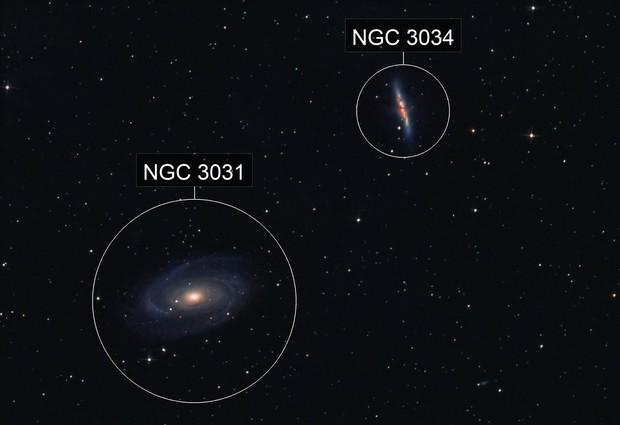 M81 & M82 guiding test