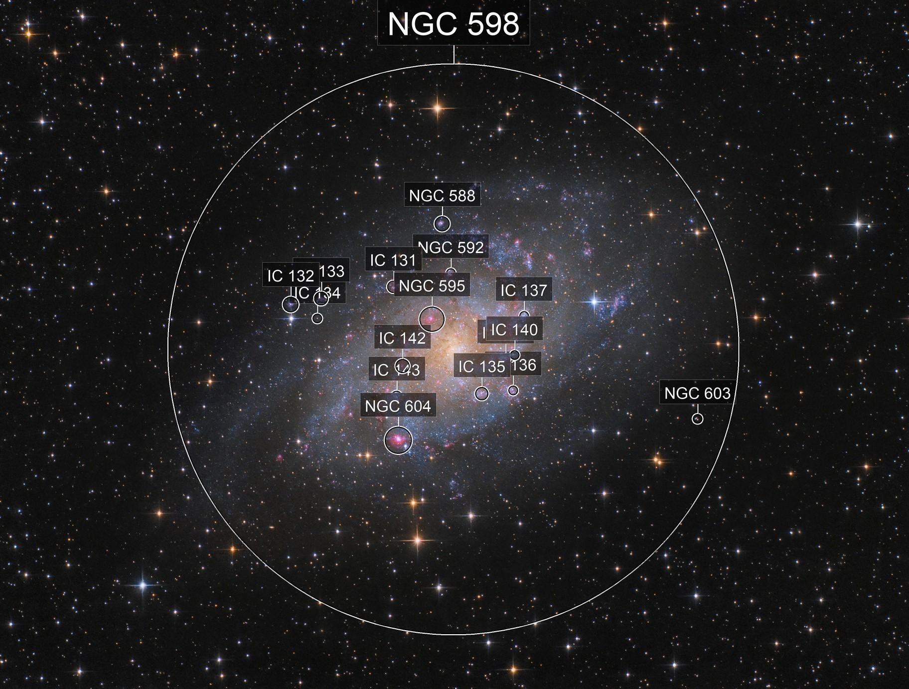 M 33 - Triangulum Galaxy