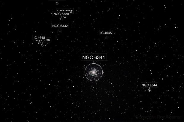 M92 a globular cluster in Hercules