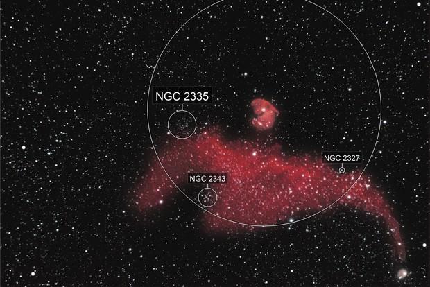 IC 2177  the Seagull Nebula