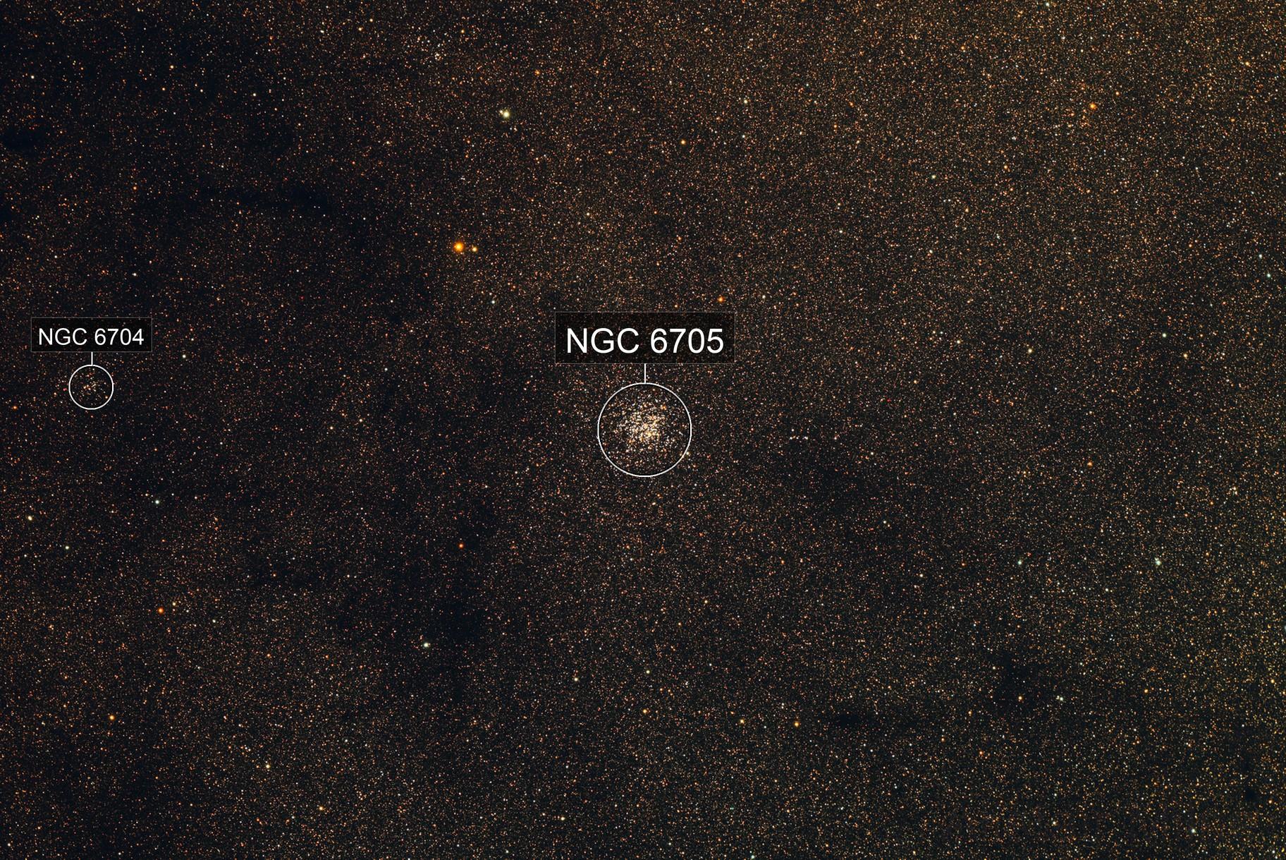 Messier 11 - The Wild Ducks Cluster
