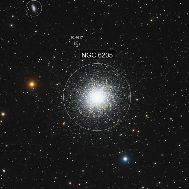 Messier 13 - The Great Globular Cluster in Hercules - RGB