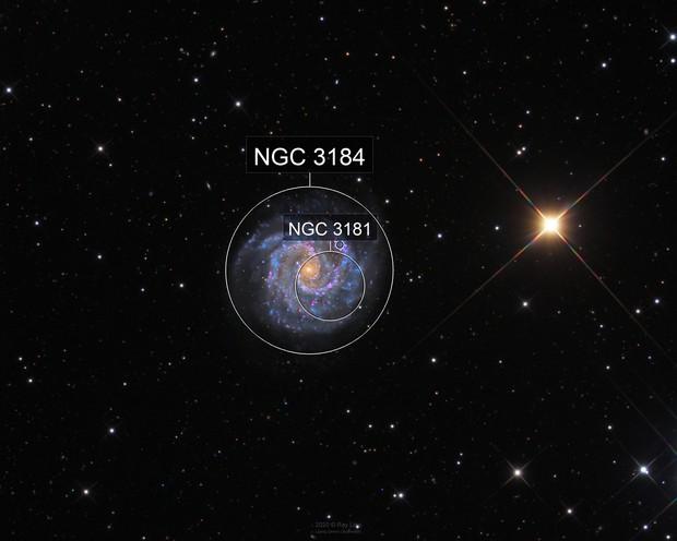 NGC3184 in HaLRGB