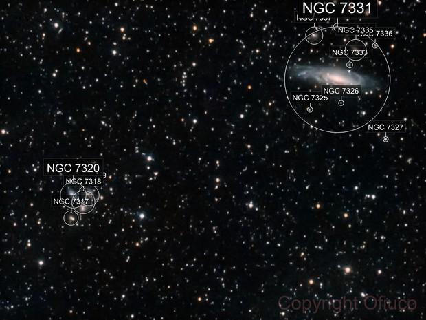 NGC 7331 and Family
