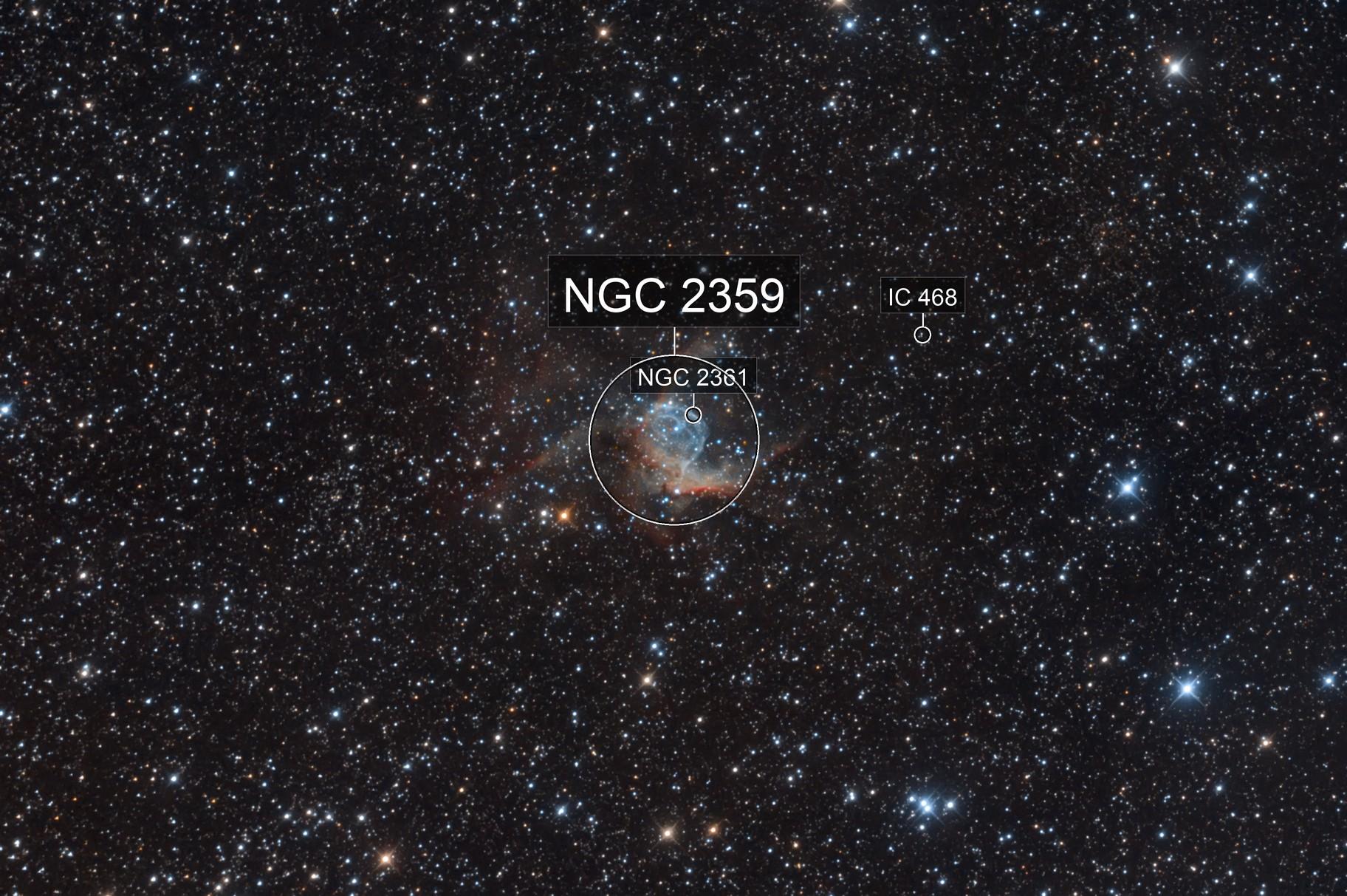 NGC 2359: Thor's Helmet