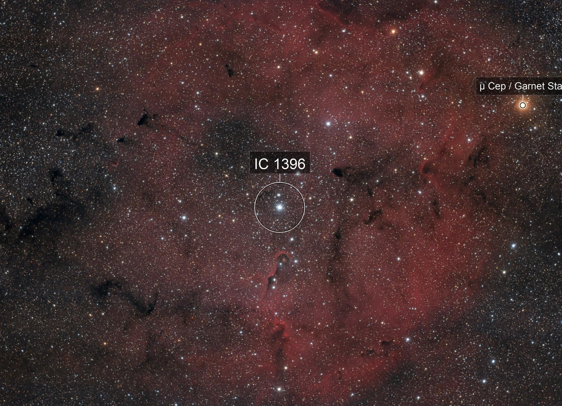 IC1396: The Elephant's Trunk Nebula