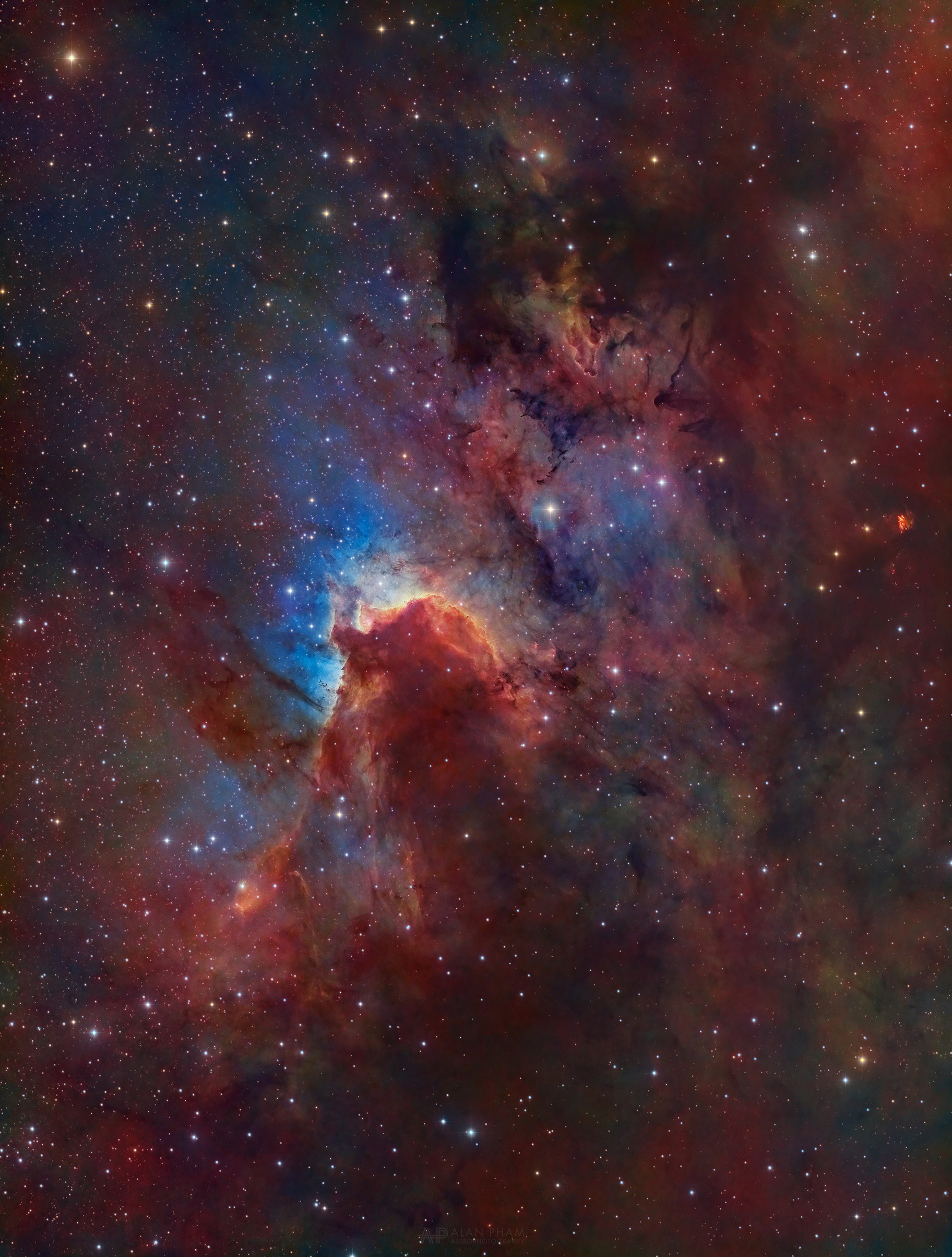 Sh 2-155 - The Cave Nebula