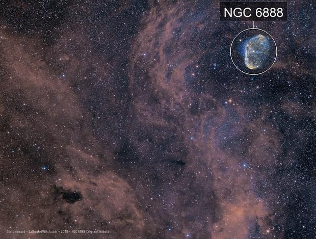 Crescent Nebula - NGC 6888