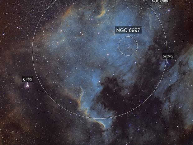 NGC 7000 SHO