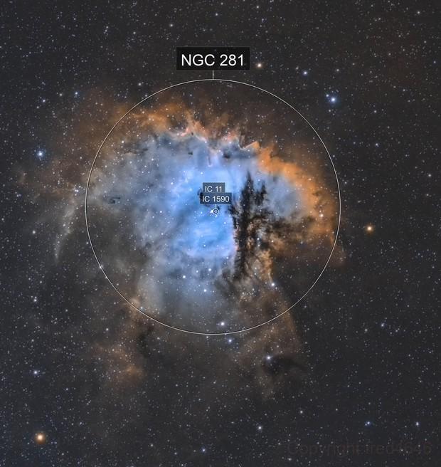 NGC 281 SHO