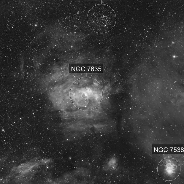 NGC 7635 La bulle
