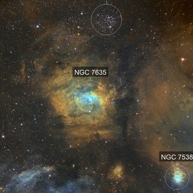 NGC-7635 SHO