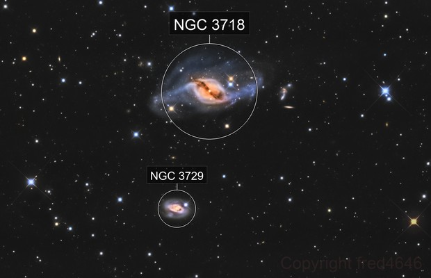 NGC 3718 LRGB