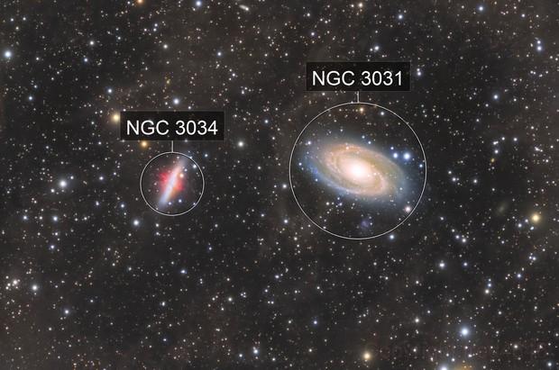 M81 - M82 L-RGB