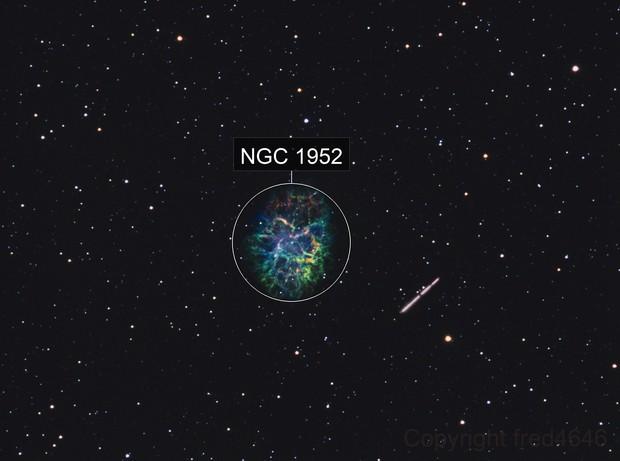 M1 SHO + astéroïde MASSALIA 20 ???