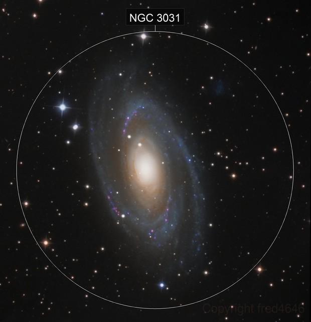 M81 HA LRGB