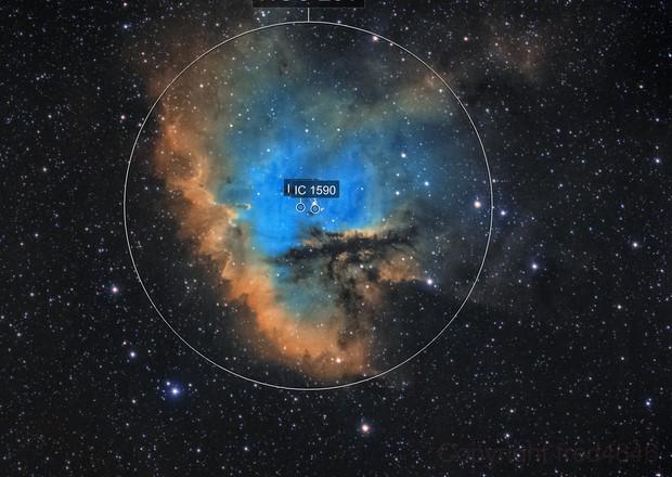 NGC281 SHO