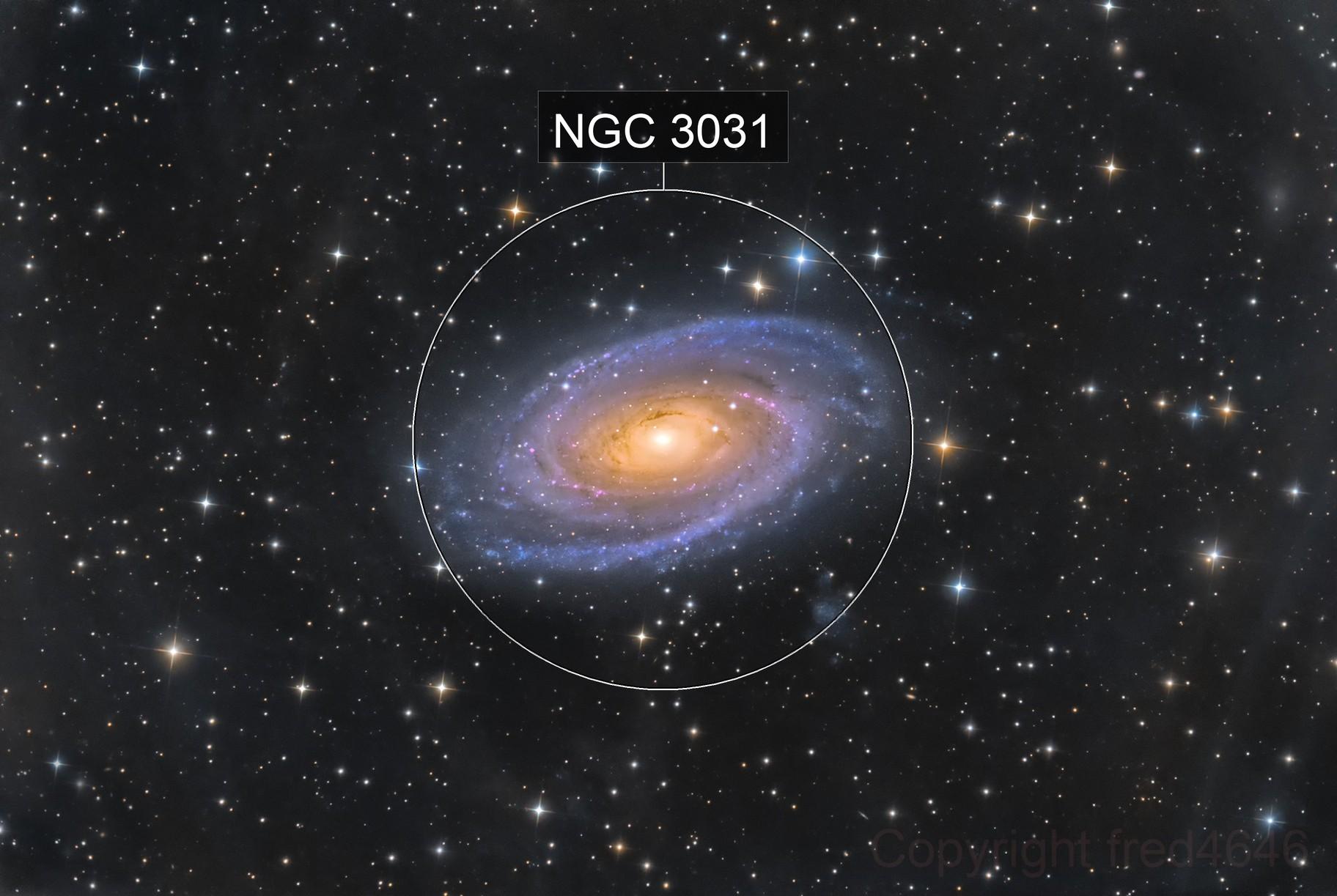 M81 LRGB