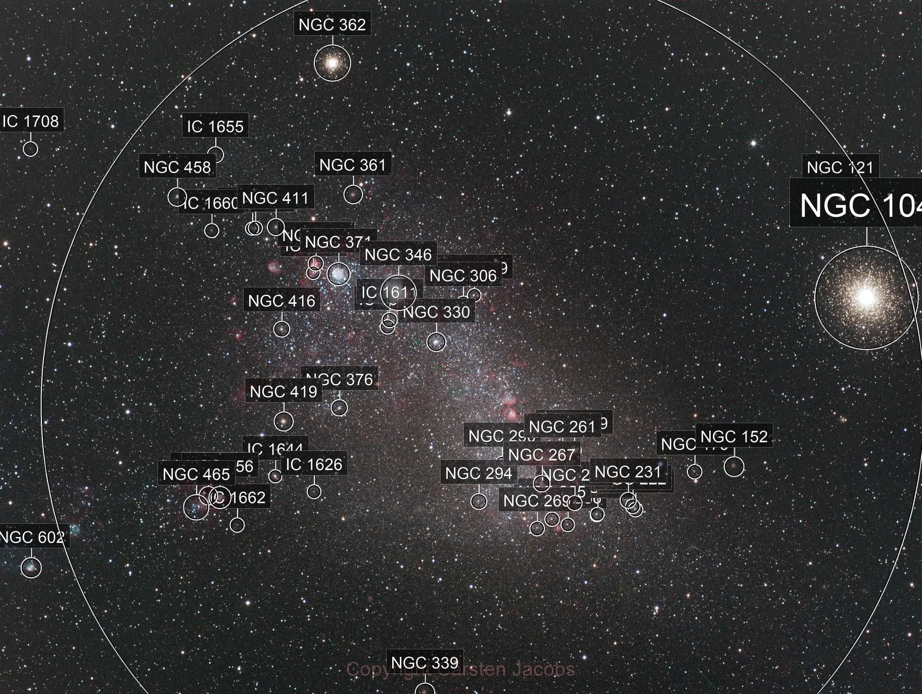 SMC (Small Magellanic Cloud) and 47 Tuc
