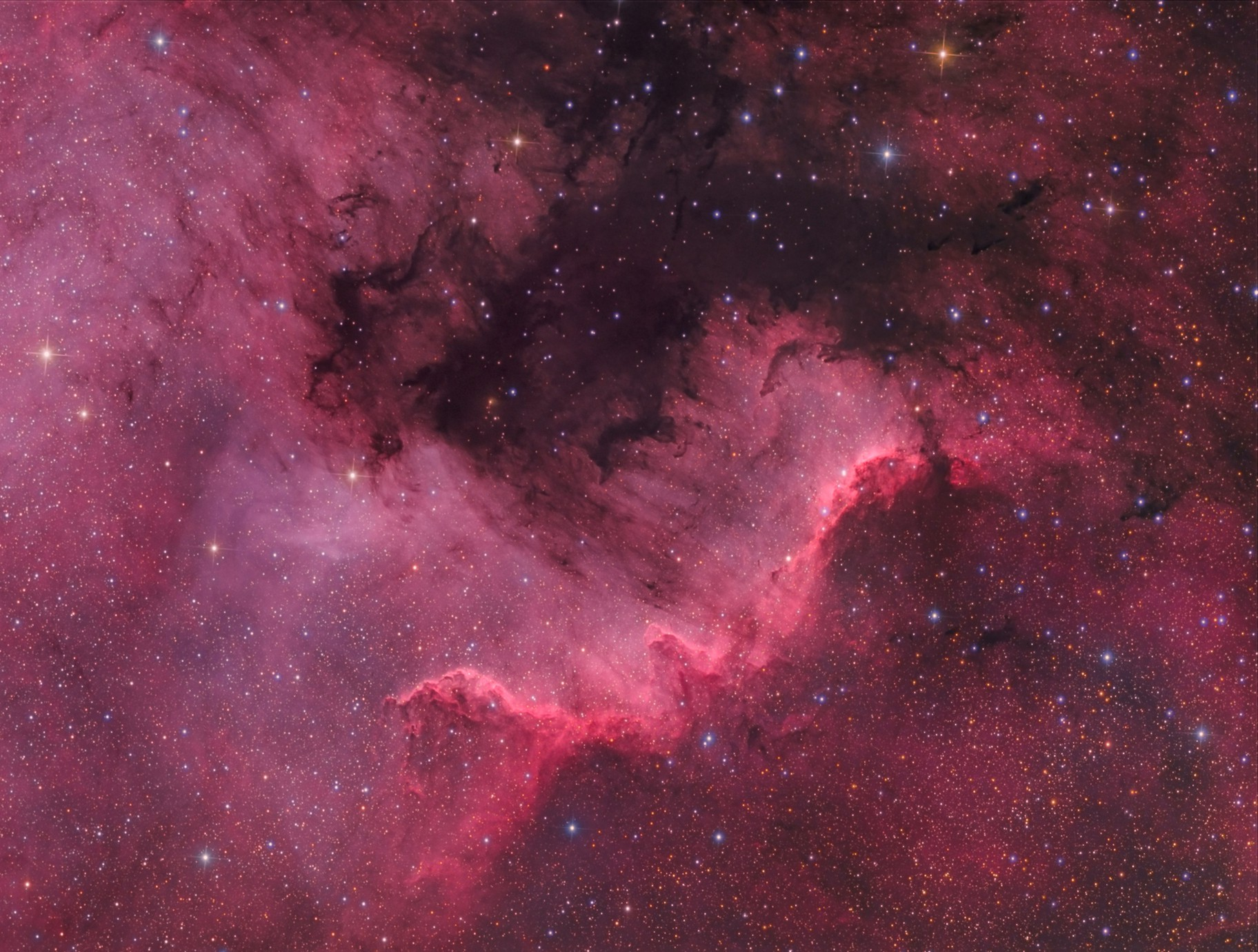 NGC 7000 - The Great Wall
