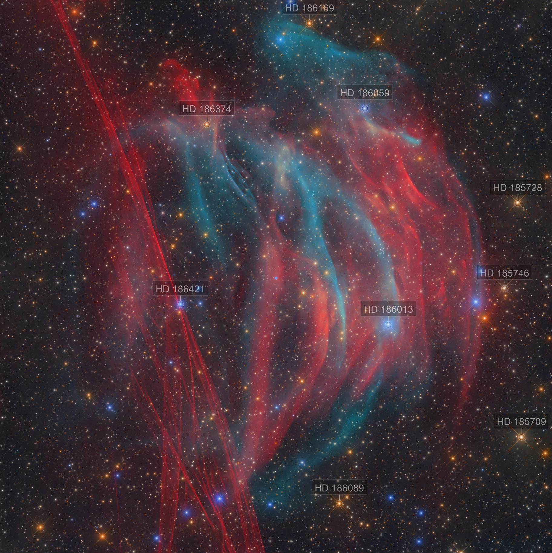 NEW DISCOVERY - PaStDr 8 / The Bärenstein Nebula and the Supernova remnant G354-33