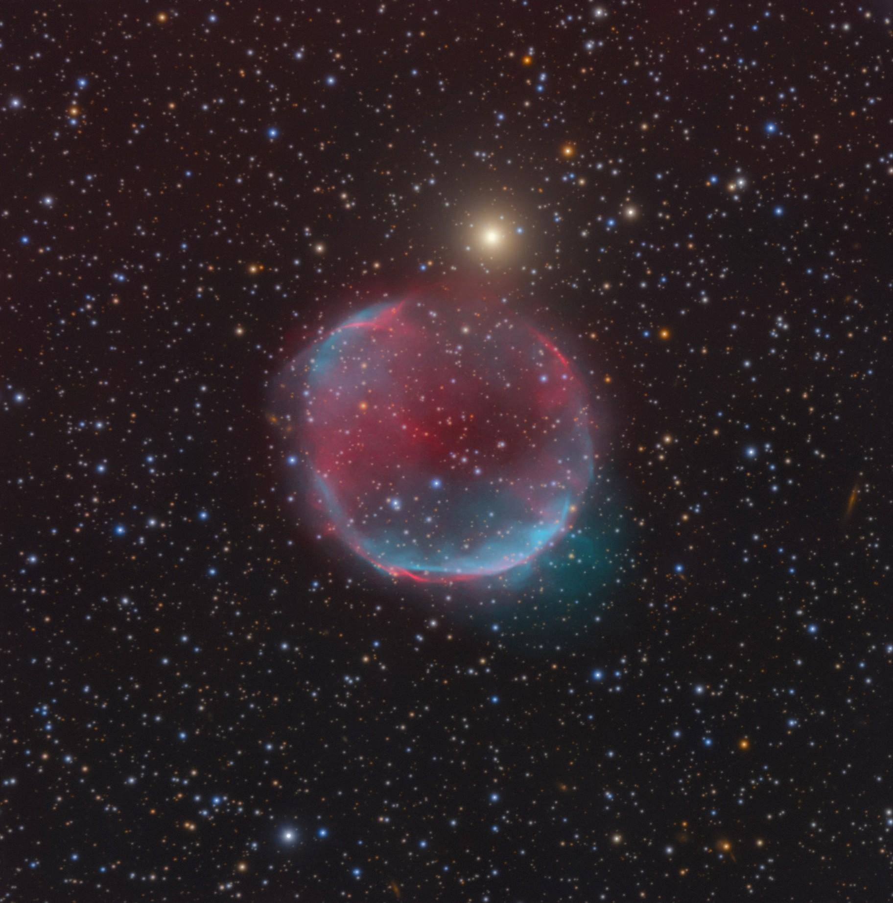 NEW DISCOVERY - STROTTNER-DRECHSLER 20 - Aurore's nebula