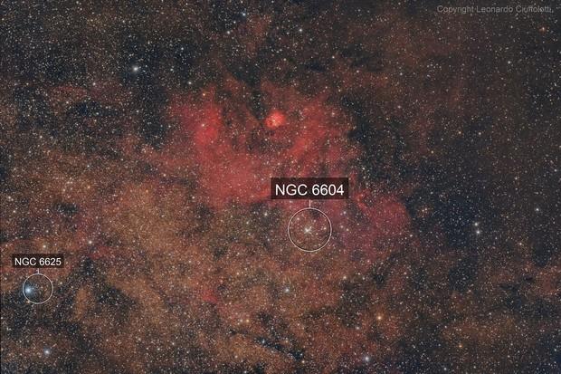 """Sh2-54 """"Scary Face Nebula"""""""