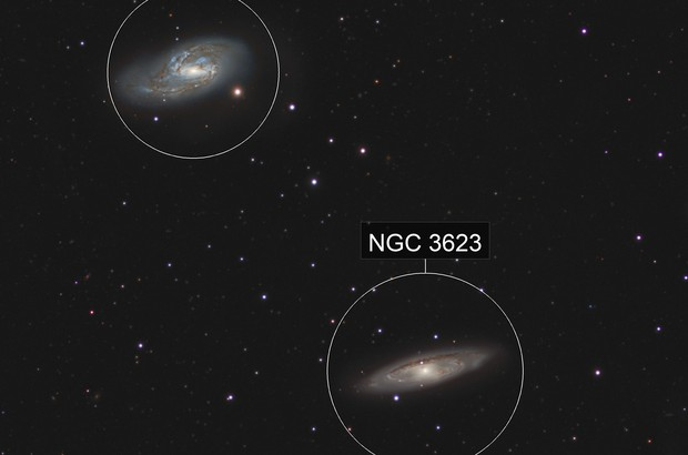 Messier 65 and 66