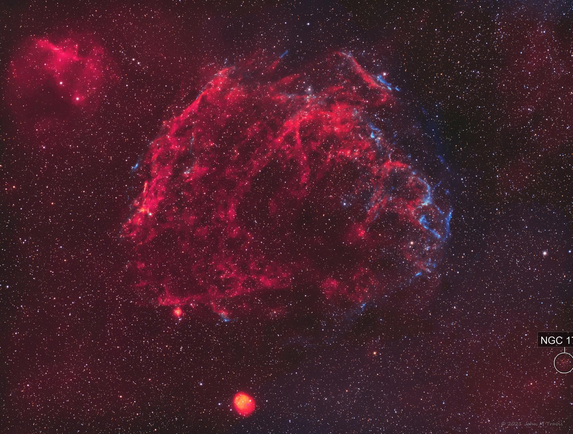 Sh2-221 Supernova Remnant