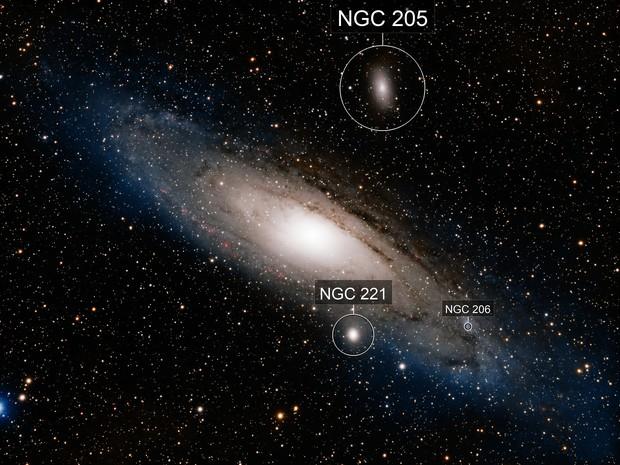 M31 Andromeda Galaxy in HaLRGB with Esprit 80 / ASI1600MM / MyT