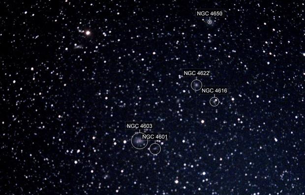 Centaurus Galaxy Cluster