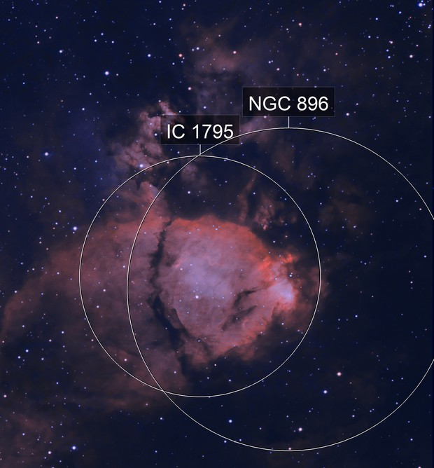 IC 1795 Poisson Nebula